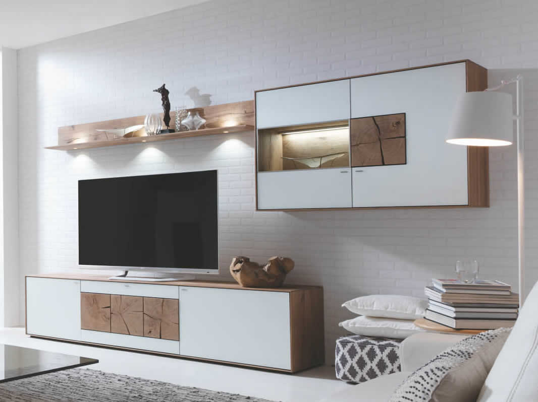 hartmann caya wohnwand 22 w g nstig kaufen m bel. Black Bedroom Furniture Sets. Home Design Ideas