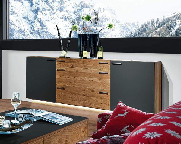Schröder Kitzalm Montana Sideboard 3829 Schiefergrau