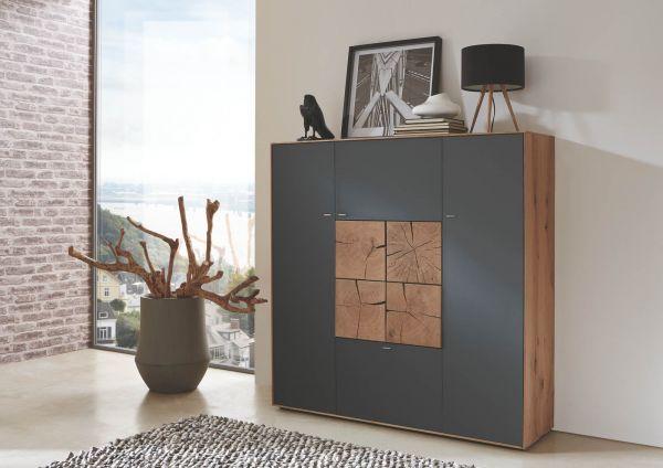 hartmann caya highboard markenqualit t g nstig bei. Black Bedroom Furniture Sets. Home Design Ideas
