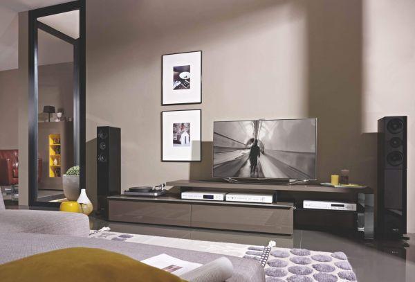 Loddenkemper Media 3000 TV-Unterteil mit Bank