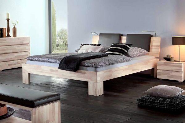 Hasena Wood-Line Doppelbett Classic 16 Kernesche Varus