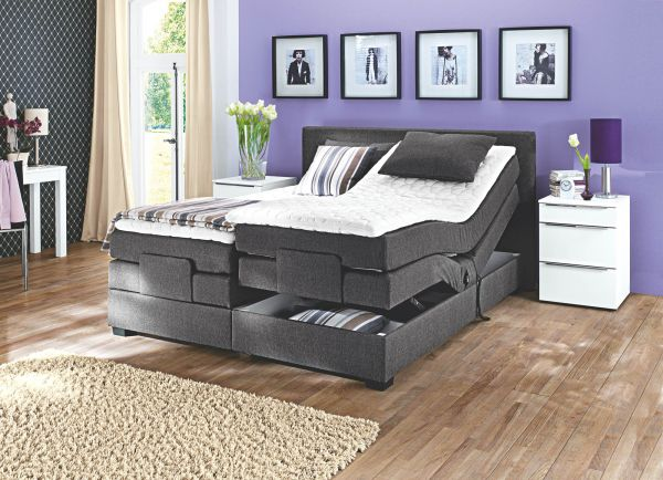 boxspringbett oschmann belcanto filou motor 200x200 m bel. Black Bedroom Furniture Sets. Home Design Ideas